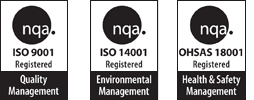 Zeta-pdm Ltd are ISO 9001, 14001 and 18001 certified